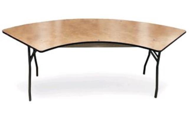 Where to find 72 X30  Serpentine Table in Ann Arbor