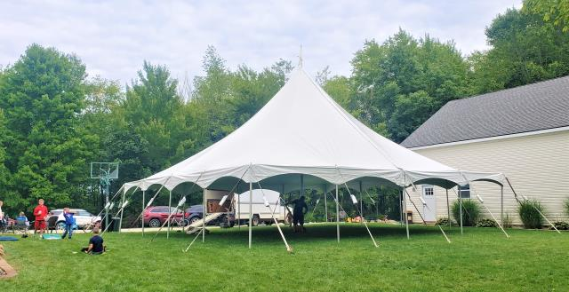 40x40 High Peak Tension Tent Rentals Ann Arbor Mi Where