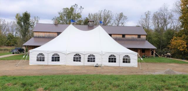 40x60 High Peak Tension Tent Rentals Ann Arbor Mi Where