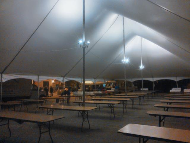 Interior Tent Lighting 40x120 Rentals Ann Arbor Mi Where