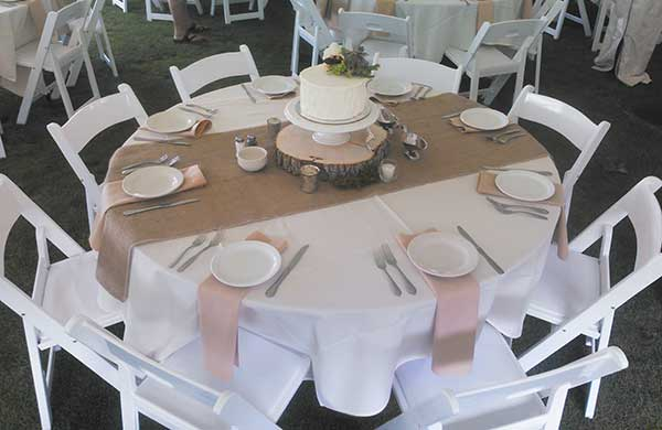 Party and event rentals in Livingston County and Washtenaw County