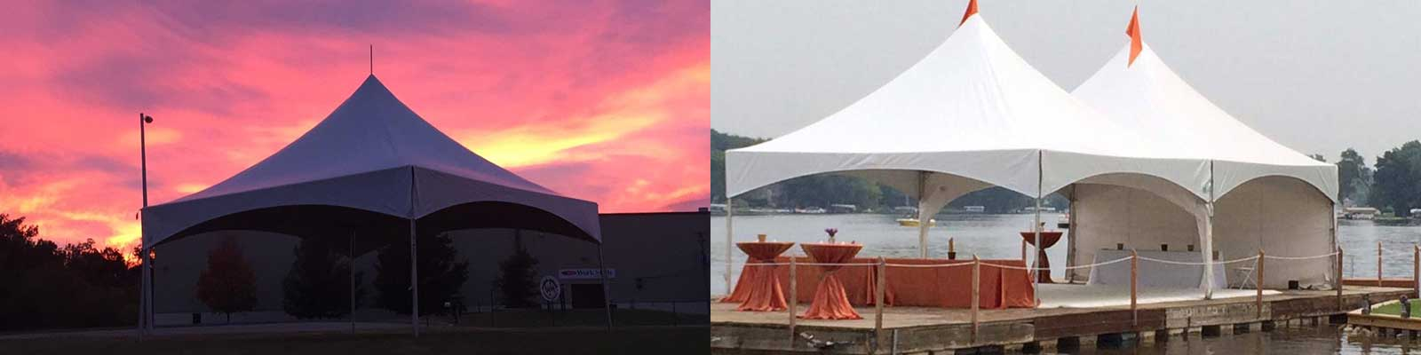 Canopy rentals in Livingston County and Washtenaw County