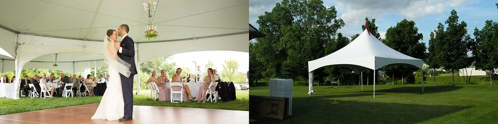 Wedding rentals in Livingston County and Washtenaw County